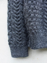 Load image into Gallery viewer, Cable Knit Jumper (Grey)