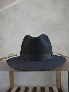 Crushable Trilby Hat (Black)
