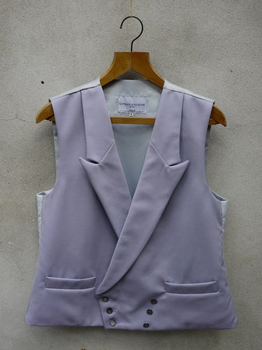 Morning Waistcoat | Double Breasted (Grey)
