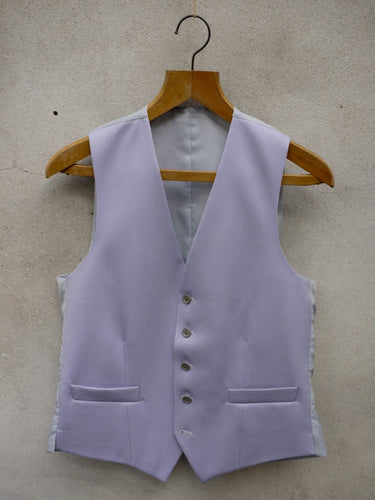 Morning Waistcoat | Single Breasted (Grey)
