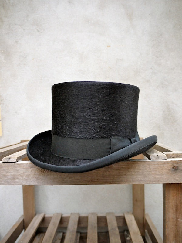 Edwardian Top Hat (Black)