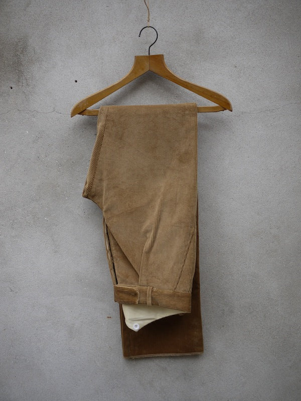 Fishtail Trousers | Corduroy (Fawn)