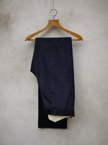 Fishtail Trousers | Corduroy (Navy)