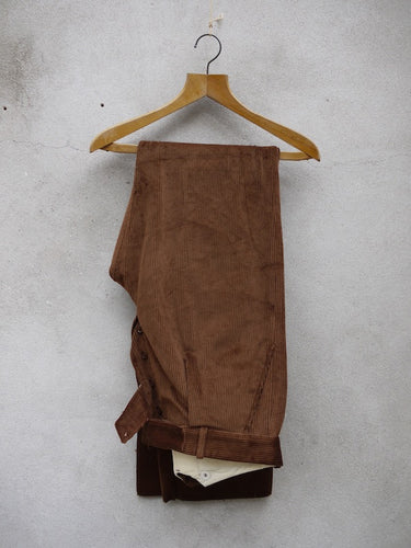 Fishtail Trousers | Corduroy (Tan)