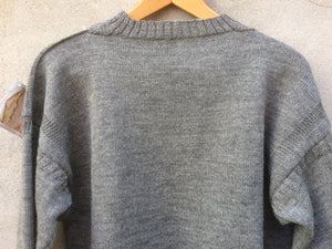Guernsey Jumper (Steel Grey)