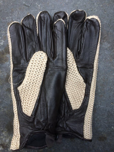 String Driving Gloves (Brown)