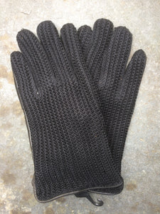 String Driving Gloves (Black)