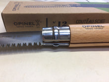 Load image into Gallery viewer, Opinel Folding Saw 12 cm. blade 29cm. overall length Beechwood Handle