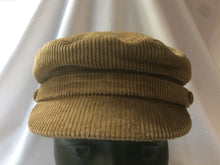 Load image into Gallery viewer, Corduroy Mariner Cap by Failsworth