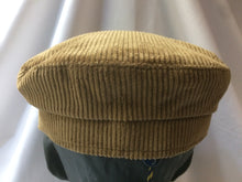 Load image into Gallery viewer, 100% Cotton Corduroy Mariner Cap by Failsworth