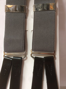 Trouser Braces (Steel Grey) introductory offer price
