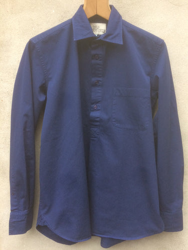 Work Shirt (Rich Blue strong cotton twill)
