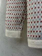 Load image into Gallery viewer, Norwegian Sweater (Burgundy Fleck)