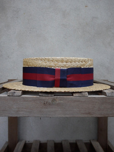 Guards Straw Boater Hat