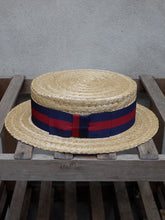 Load image into Gallery viewer, Guards Straw Boater Hat