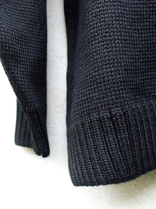 Roll Neck Jumper (Black)