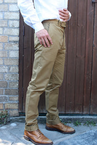 Tailored Drill Trousers (Khaki)