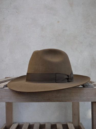 Brompton Trilby Hat (Brown)