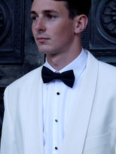 Load image into Gallery viewer, White Dinner Jacket | Shawl Collar
