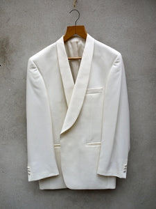 White Dinner Jacket | Shawl Collar
