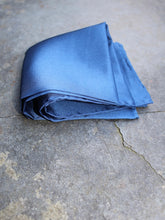 Load image into Gallery viewer, Silk Pocket Square (Blue)
