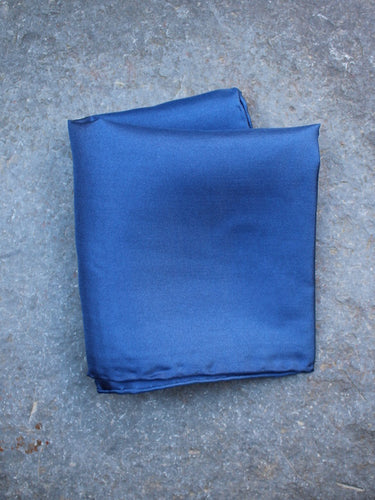 Silk Pocket Square (Blue)