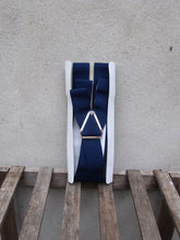 Load image into Gallery viewer, Trouser Braces | Clip-on (Navy)