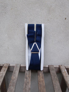 Trouser Braces | Clip-on (Navy)