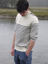 Load image into Gallery viewer, Breton Jumper | Binic (Cream)
