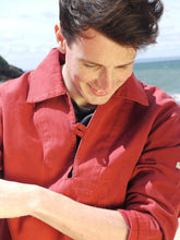 Load image into Gallery viewer, Fishermans Smock | Nemo II (Brick Red)