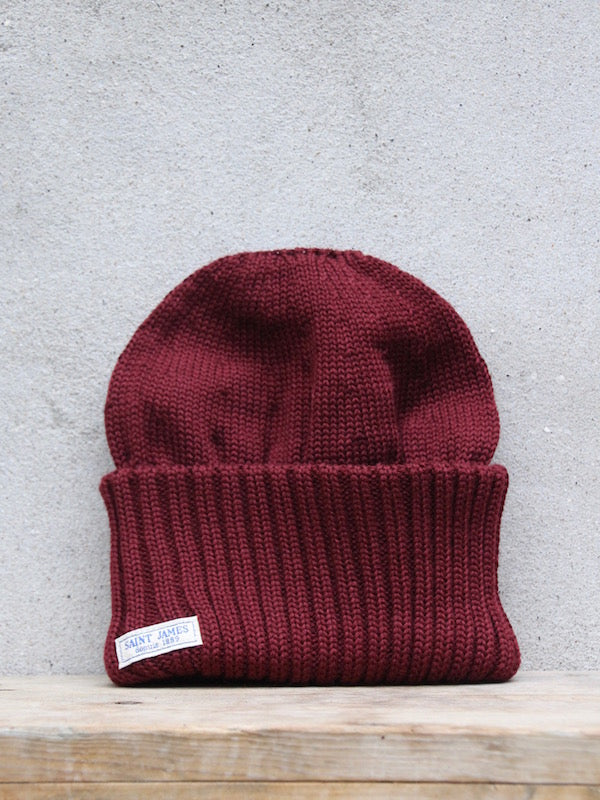 Watch Cap | Barbaresque (Burgundy)