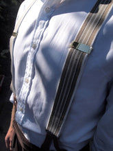 Load image into Gallery viewer, Trouser Braces (Fawn Striped)