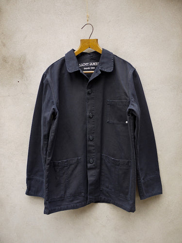 Canvas Jacket (Navy) 'Sirocco'