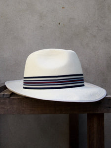 Superfine Regimental Panama Hat