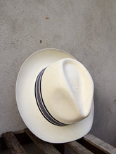 Load image into Gallery viewer, Superfine Regimental Panama Hat