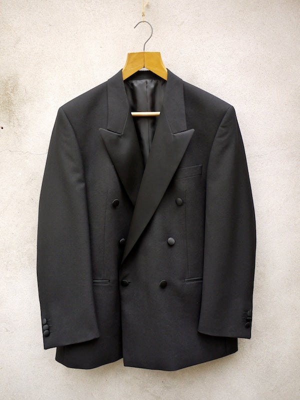 Wool Dinner Jacket | Double-Breasted