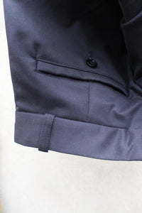 Tailored Drill Trousers (Navy)