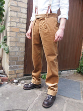 Load image into Gallery viewer, Fishtail Trousers | Corduroy (Fawn)