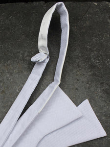 Marcella Self Tie Bow (White)