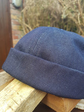 Load image into Gallery viewer, Dockers Skullcap In Navy, Denim or Brick red.