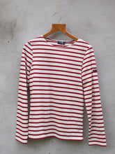 Load image into Gallery viewer, Breton Top | Minquiers Moderne (Red)