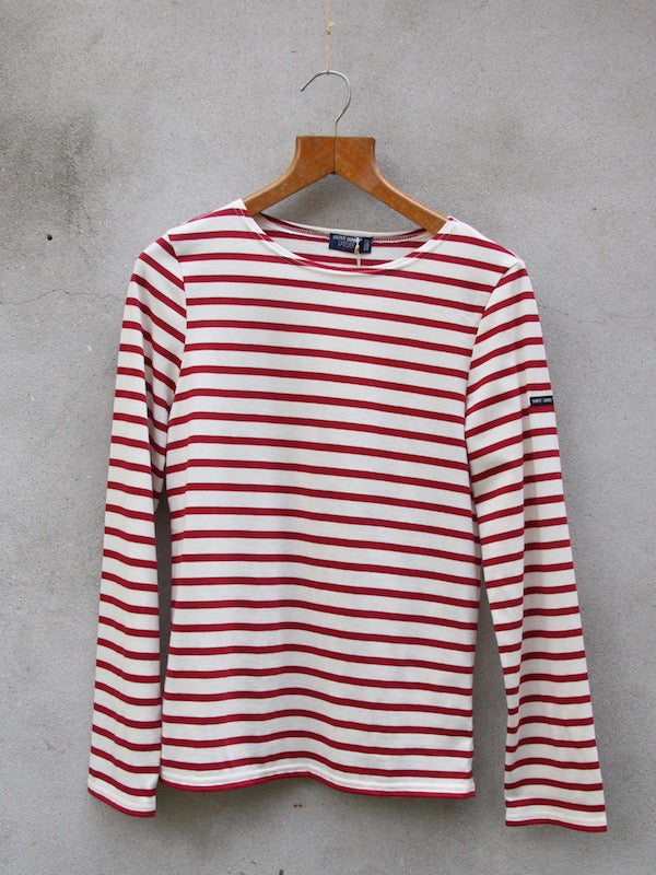Breton Top | Minquiers Moderne (Red)