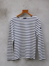 Load image into Gallery viewer, Breton Top | Minquiers Moderne (Cream)