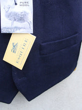 Load image into Gallery viewer, Wool Waistcoat (Blue)