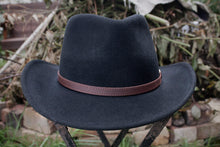 Load image into Gallery viewer, Outback Bush Hat (Black)