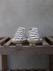 Espadrilles (Cream Stripe)