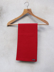 Woolly Knit Scarf (Red)