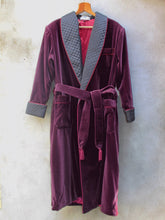 Load image into Gallery viewer, Dressing Robe | Velvet (Burgundy)