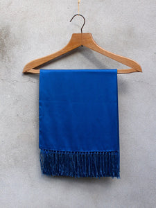 Silk Dress Scarf (Blue)