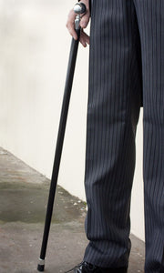 Silver Top Walking Cane